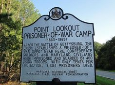 This picturesque spot between the Potomac River and Chesapeake Bay served as a hospital and prison camp for Confederate soldiers during the Civil War.