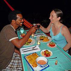 romantic dinner at @Finca Exotica Eco lodge #CostaRica