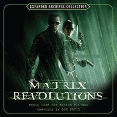 The Matrix Revolutions Soundtrack (Don Davis) - CD cover