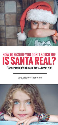 How you answer this loaded question (Tell me the truth, is Santa real?) can empower — or completely crush — your child's spirit. *This is a must-read for holiday post for parents with elementary school-aged kids.