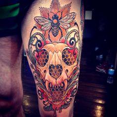 Tattoo done byRyan Mason. @ryanscapegoat