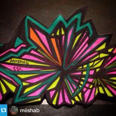 @miishab・・・Slaps for the @stickersocialclub #ssk #miishab #botanicalillusions