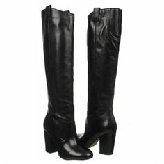 Sam Edelman Tucker Boots (Black Leather) - Women's Boots - 8.0 M