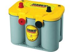 Optima Battery Sealed Lead Acid Battery - Group 3478 Yellow Top Dual Purpose On Sale Everyday At Zequip Equipment Superstore. Rv Battery, Portable Battery, Lead Acid Battery, Battery Hacks, Battery Terminal, Optima Battery, Car Buying Tips, Car Cleaning Hacks, Clean Your Car