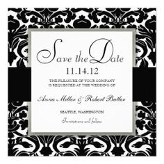 >>>Low Price          Damask Save the Date Announcement Silver Black           Damask Save the Date Announcement Silver Black in each seller & make purchase online for cheap. Choose the best price and best promotion as you thing Secure Checkout you can trust Buy bestDeals          Damask Sa...Cleck Hot Deals >>> http://www.zazzle.com/damask_save_the_date_announcement_silver_black-161248421234711746?rf=238627982471231924&zbar=1&tc=terrest