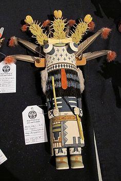 Ogre Katsina - Tayron Polequaptewa - Museum of Northern Arizona - Hopi Festival by Al_HikesAZ, via Flickr