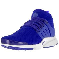 Nike Nike Men's Air Presto Flyknit Ultra Running Shoe | Bluefly.Com ($175) ❤ liked on Polyvore featuring men's fashion, men's shoes, men's athletic shoes, blue, shoes, mens shoes, mens blue running shoes, mens running shoes, mens blue shoes and mens athletic shoes