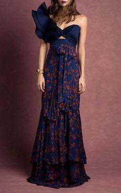 Laeta Tiered Skirt by Johanna Ortiz | Moda Operandi