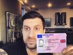 Pinterest Driver d Real Passport I Fake On License Card dorisluke14 Buy