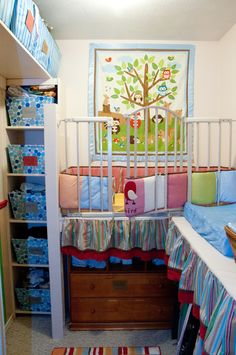 Looks Like A Baby Gate On Top Of Dresser For Crib