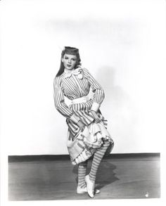 """Judy Garland in Meet Me In St. Louis.  Don't those stockings just shout """"wicked witch of the west""""?"""