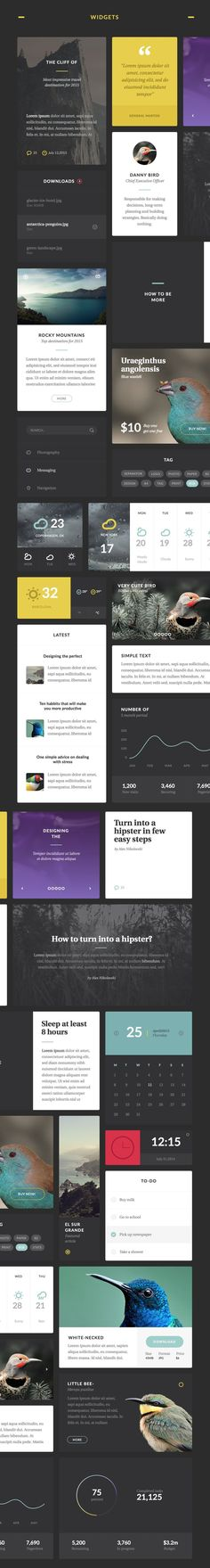 Aves UI Kit https://ui8.net/product/aves-ui-kit. If you like UX, design, or design thinking, check out theuxblog.com