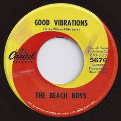 Good Vibrations / Beach Boys / on Billboard 1966 Old Records, Vinyl Records, Mike Love, The Beach Boys, Oldies But Goodies, Best Vibrators, My Childhood Memories, My Memory, My Favorite Music