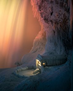 #Photography: Icy Niagara Falls Looks like It's of a Different Planet