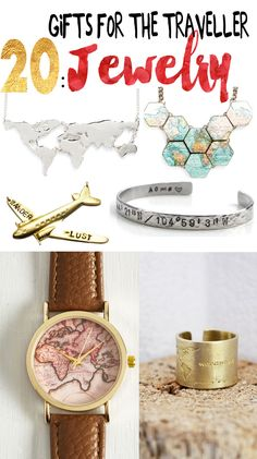 20 Gifts for the Traveller: Jewelry http://seattlestravels.com/20-gifts-traveller-jewelry/ #travel
