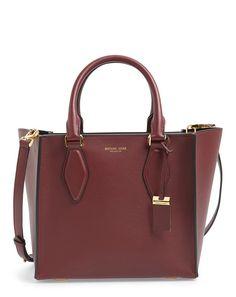 medium gracie leather satchel