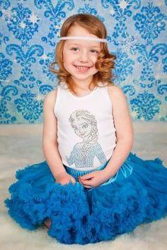 Birthday Boutique :: Elsa Frozen Rhinestone Tank - Little girls boutique, baby girl clothes, toddler clothing, kids accessories. | Tutu Spoi...