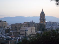 La Catedral al atardecer. 8/2015