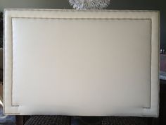 Hey, I found this really awesome Etsy listing at https://www.etsy.com/listing/152416013/queen-rectangle-upholstered-headboard