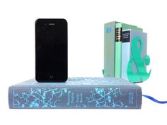iPhone charger built into a book!   Wuthering Heights - Booksi on Etsy