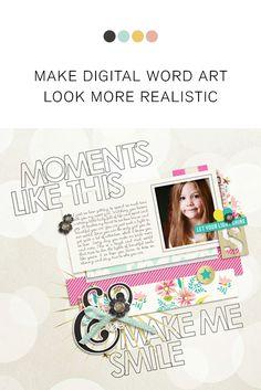 Make Digital Word Ar