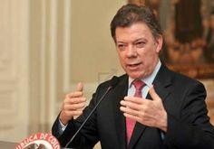 El Presidente Santos expresa tranquilidad y control.