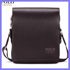 80b59591147 VICUNA POLO New Arrival Fashion Business Leather Men Messenger Bags  Promotional Small Crossbody Shoulder Bag Casual