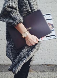Discover the ultra-light ASUS ZenBook UX305 | High-performance notebooks and ultrabooks for busy and fashionable girls on the go | Functional and powerful lifestyle products by ASUS | via Lily.fi