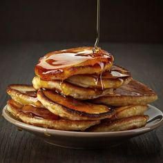 Pancake torta de maçãs