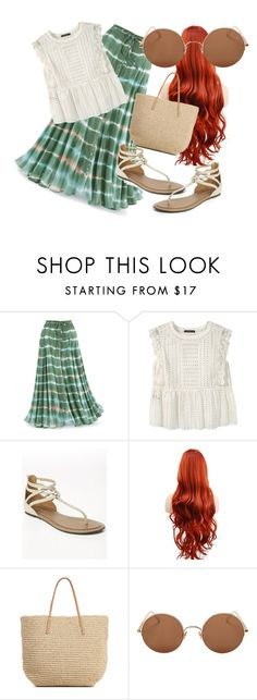 Maldives Outfit by nrlwulan on Polyvore featuring Violeta by Mango, Lane Bryant, Target and Sunday Somewhere