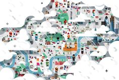 Heystudio.es Wall Street Journal -  London map