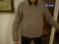 Chunky Men's Sweater on the Round Loom