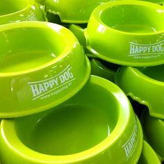 พิมพ์ชามอาหารสุนัข | HappyDog | Screen Printing | Dog's Bowl