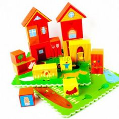 Meadow Kids Puzzle do kąpieli 3D Farma