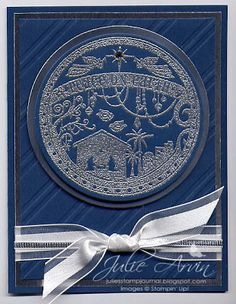 Stampin' Up! Wonderful Blessing Christmas card