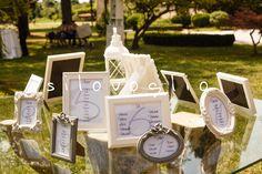 #wedding #tableau Frame tableau