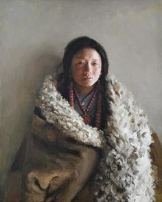 2004 TIBET WOMAN, Xu Weixin (徐唯辛; b1958, Urumqi, Xinijiang Province, China)