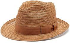 Borsalino Ribbon-embellished panama hat Panama Hat a646933ab2fe
