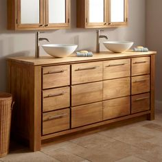 solid wood bathroom cabinets peachy wooden bathroom cabinets pamper your home with these amazing solid wood bathroom vanity units Wood Bathroom Cabinets, Modern Bathroom Sink, Bamboo Bathroom, Small Space Bathroom, Double Sink Bathroom, Bathroom Furniture, Bathroom Vanities, Furniture Vanity, Rustic Kitchens
