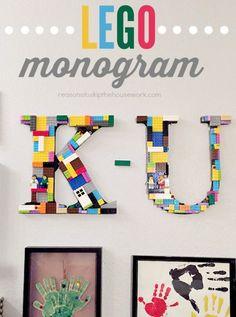 Make a Lego Monogram