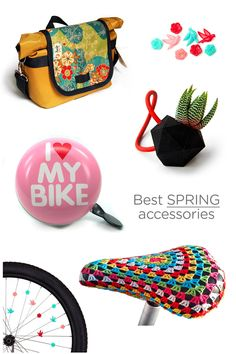 Best of Spring Bike Accessories by HappyBicycle.pt