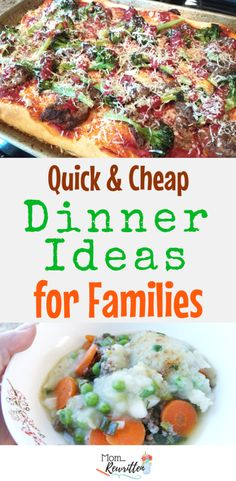 Dinner ideas for families that are quick and cheap? Find out how to get all the ingredients for delicious dinner dishes delivered to your home each week (at a fraction of the price for other meal subscription services!) #Dinnerly #QuickDinners #FamilyMeals #Dinner #Cooking #BudgetCooking AD