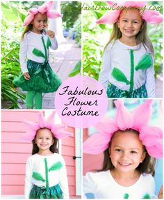 The Hair Bow Company Blog Fabulous Flower Costume DIY