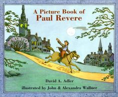 A Picture Book of Paul Revere (Picture Book Biographies) (Picture Book Biography) by David A. Paul Revere's Ride, St Loius, Best Biographies, Earth Book, Thing 1, Reading Levels, American Revolution, Used Books, S Pic