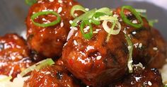 Skip The Take Out And Try These Baked Orange Chicken Meatballs