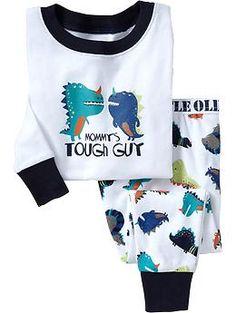Graphic PJ Sets for Baby - My Style - Babykleider Toddler Boy Outfits, Toddler Boys, Kids Outfits, Baby Boy Pajamas, Pyjamas, Old Navy Kids, Boys Pjs, Boys Sleepwear, Kids Fashion Boy