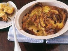 Orange scented brioche pudding by Nigella