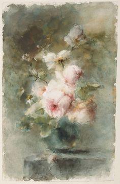 Een vaas met rozen,1896