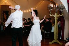 Performers! (Plus DIY candelabra by the bride's father!) by nrodell93088, via Flickr