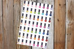 Nail Polish Stickers for Erin Condren by GraceDesignsStore on Etsy